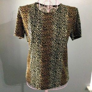 💓 Bentley Women Cheetah Print nylon shirt